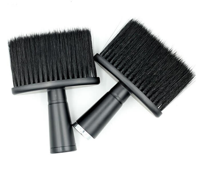 high quality factory price professional neck duster brush custom hair cleaning brush with logo