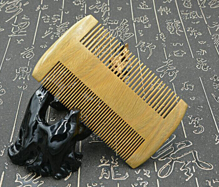 Nature hand made Sandalwood Comb hair combs anti-static beard comb amazon hot sale