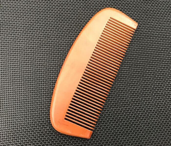 high quality wooden antistatic anti dandruff wide tooth comb for beard and hair