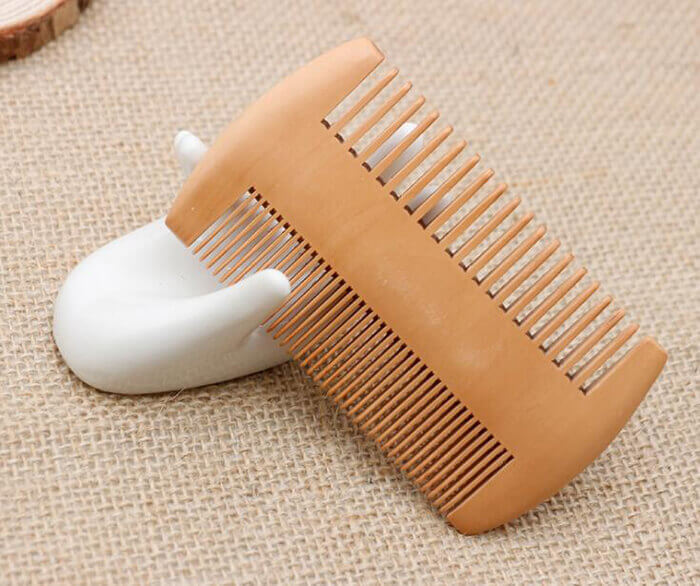 mens grooming wooden beard comb wooden hair comb 03
