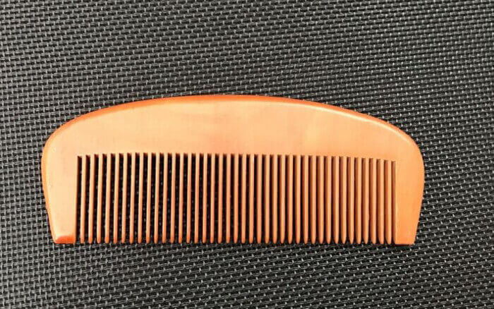 antistatic anti dandruff wide tooth comb for beard and hair HYcomb182 03